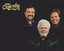 The Osmonds Hand Signed 8x10 Photo, Autograph, Jay, Jimmy Merrill, Crazy Horses