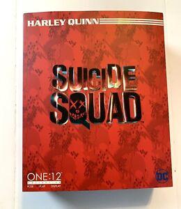 Mezco One:12 Collective Suicide Squad Harley Quinn Action Figure AUTHENTIC DC