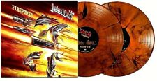 Judas Priest Firepower Online Exclusive Orange/Black Speckled Vinyl 2LP New Mint
