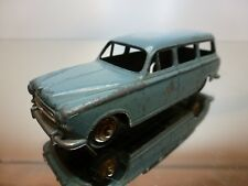 DINKY TOYS 24F PEUGEOT 403 U5 - BLUE 1:43 - GOOD CONDITION