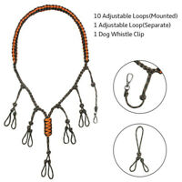 Goose Duck Call Lanyard Neck Strap Game Call Braided Rope for Whistle Hunting