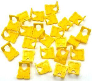 LEGO Neuf Jaune Mini Figurine Vie Veste Centre Boucle Pièces
