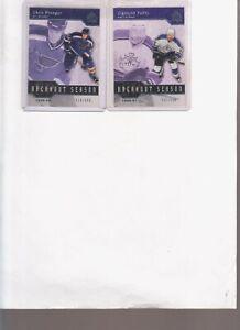 2003/04 SP AUTHENTIC ZIGMIUND PALFFY BREAKOUT SEASON PARALLEL CARD #B10 #d/500