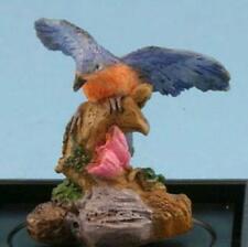 Dollhouse Bluebird Figurine jc02 Dale Jeannetta Kendall Wings Out Miniature