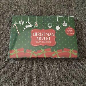 Christmas Advent Calendar Charm Jewelry Bracelet Ornaments Countdown 24 Days