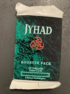 Jyhad Booster Pack / 19 Cards / SEALED / Vampire: The Eternal Struggle