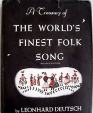 B004VO7GKS Treasury of the Worlds finest Folk Song. Collected and arranged by