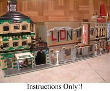 GET 100+ CUSTOM LEGO INSTRUCTIONS like MODULAR BOWLING ALLEY- 10185 Green Grocer