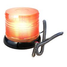 HQRP 12V Amber Emergency Hazard Warning Magnetic Base Beacon LED Strobe Lights