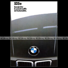 ★ BMW 525e 525 e SERIE 5 E28 ★ 1983 - Brochure Catalogue PUB #BA65