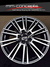 4 x Wheelworld WH18 Felgen 8.5 X 19 Zoll 5 X 112 grau poliert chrom Alu AMG RS
