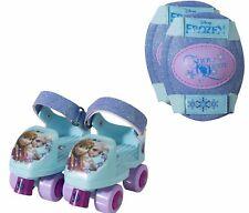 Roller Skates For kids Beginner Kit Skating wheels Knee Pads Junior Size 6-12