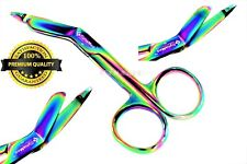 New German 1 Lister Bandage Nurse Scissors 35 Multi Titanium Color Rainbow