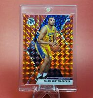 ROOKIE HOLO RED ORANGE PRIZM Talen Horton-Tucker CARD - LAKERS RC INVESTMENT
