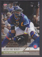 Topps Now - MLB Players Weekend 2018 - PWB-11 Willson Contreras - Cubs Bonus #1
