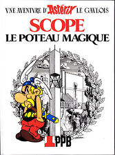 Astérix Scope Le Poteau magique Uderzo édition spéciale société PPB