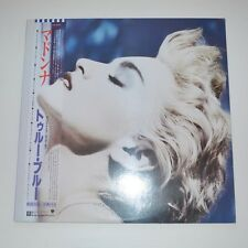 MADONNA - TRUE BLUE - 1986 JAPAN LP PROMO COPY WITH POSTER !!!!