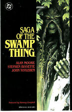 1st Printing Vol. 1 Saga of the Swamp Thing GN Collects 21-27 Alan Moore Run LN