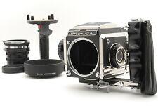 【EXC+5】 ZENZA Bronica S2 6x6 Midium Format Camera gray body + Many accessories
