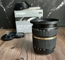 """Tamron 10-24mm F3.5-4.5 Lens SP Di-II IF AF For Sony A-Mount """"Excellent"""""""