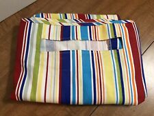 Longaberger Work A Round Summertime Stripe LINER ONLY - Free Ship