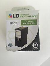 LD 18C1523 23 Black Ink Cartridge for Lexmark Printer Recycled!