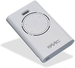 GENUINE FAAC XT4 433 SLH LR - 4 button remote fob 433mhz (787008)