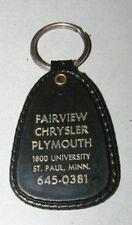 Vintage Fairview Chrysler Plymouth University Ave St. Paul  Minnesota Keychain