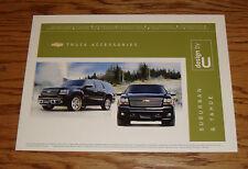 Original 2008 Chevrolet Truck Suburban & Tahoe Accessories Sales Brochure Chevy