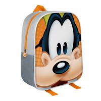 3D Rucksack Disney Goofy Grau Kinderrucksack Kindergartenrucksack Kindertasch...