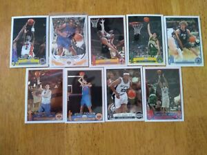 2003-04 TOPPS CHROME BASKETBALL ROOKIE RC LOT OF 9 CARDS Ariza Haslem Collison