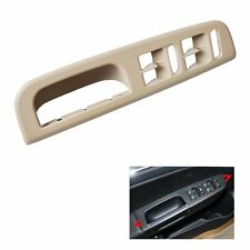 Beige Door Window Switch Control Panel+Handle Trim For VW Passat Golf Jetta MK4