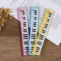 1x music ruler primary school students painting measuring scale creative rulerSE