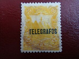 NICARAGUA   TELEGRAPH  ERROR  1893   25 C