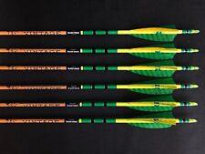 Black Eagle Vintage 500 .005 Fletched/Crested Arrows 1/2 Dozen Brand New