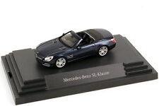 1: 87 Mercedes - Benz Sl - Class 2012 R231 Cavansit - Blue - Dealer - Edition -