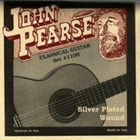 John Pearse Classical Guitar Strings Standard Tension Silver Plated Wound #1100