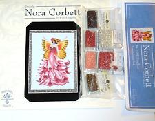 Nora Corbett FOXGLOVE Pattern and Bead Pack FAIRY Pixie Blossoms, FLOWER
