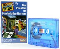 TKKG 110 Das Phantom im Schokoladen-Museum Europa logo blau Hörspiel MC