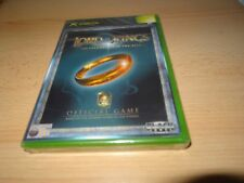 LORD OF THE RINGS THE FELLOWSHIP OF THE RING para Xbox Nuevo Empaquetado PAL