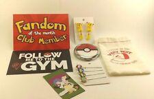 Fandom of the Month Club FOTM - Pokemon Go Vinyl Sticker Mirror Earrings Magnet