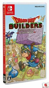Dragon Quest Builders Switch square Enix Nintendo Switch From Japan