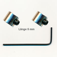 2 Edel Sicherheitsverschlüsse (Mini) Pin Saver für Metall Button Pin Anstecker