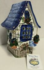 Blue Sky Clayworks Tea Light Cottage by Heather Goldminc New W/ Tags