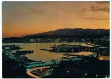 Postal de Palma de Mallorca. La bahía de noche