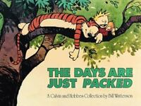 THE DAYS ARE JUST PACKED by Bill Watterson FREE SHIPPING Calvin and Hobbes comic