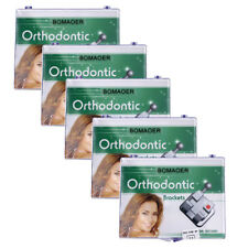 5X Orthodontic Monocrystalline Sapphire Ceramic Bracket Mini Roth.022 Hook 345