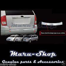 Chrome Rear Bumper Protector Guard Cover Trim for 06~14 Kia Sedona/Carnival
