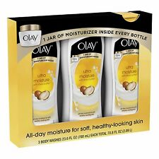 3 PACK - Olay Ultra Moisture with Shea Butter Body Wash / 23.6 oz.