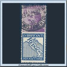 1924 Italia Regno Pubblicitari Reinach cent. 50 violetto  azzurro n. 14 Usato